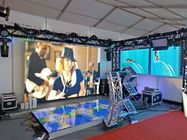 High Definition Indoor Full Color LED Display Screen / P4.81 SMD Indoor Rental LED Panel